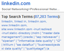 LinkedIn_top_search_terms_july_2009