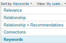 LinkedIn_Results_Sorting_Options