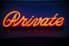 Private by Thomas Hawk Creative Commons