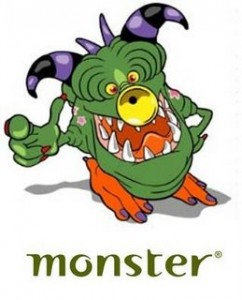 Monster logo small