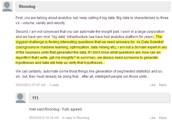 Big data question HIGHLIGHTED  blog comment not about the data but about intelligent questions